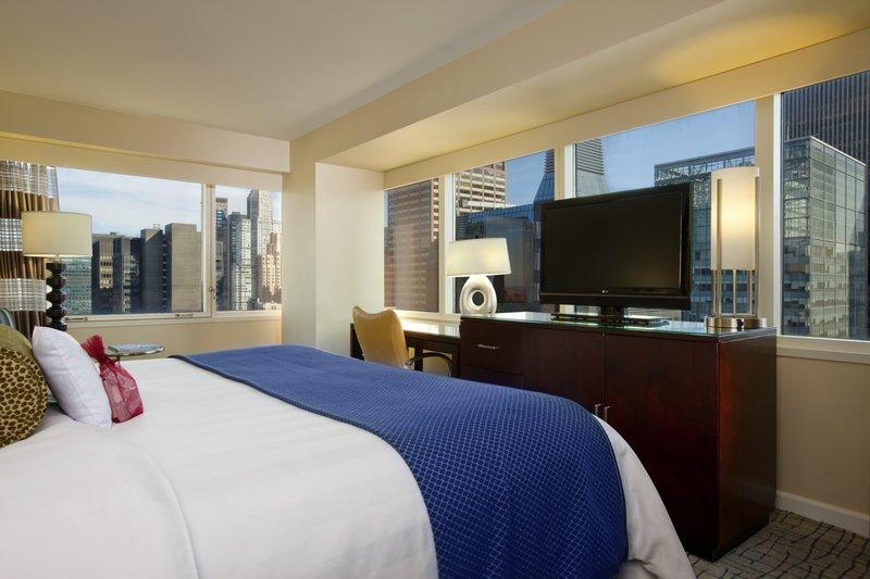 Crowne Plaza Hotel Times Square Manhattan Widok pokoju