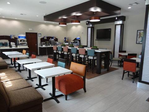 Holiday Inn Express KENEDY - Breakfast Bar Area