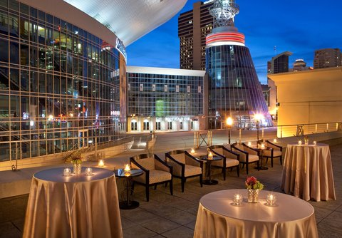 Hilton Nashville Downtown - Ryman Terrace