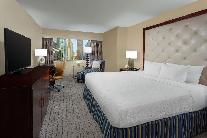 Crowne Plaza Hotel Times Square Manhattan Odanın görünümü