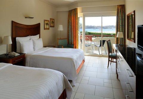 شرم الشيخ ماريوت ريزورت - Double Double Sea View Room - Beach side