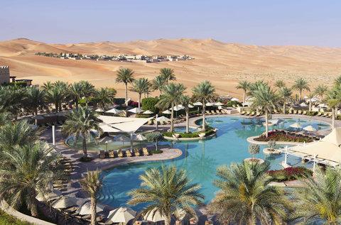 أنتارا قصر السراب منتجع الصحراء - Free Form Pool