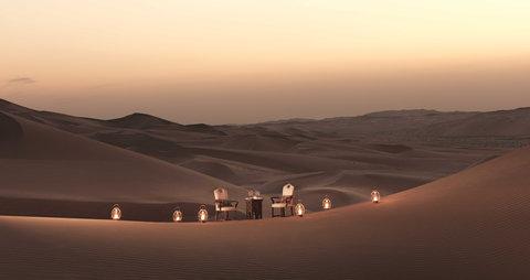 أنتارا قصر السراب منتجع الصحراء - Dining By Design
