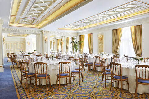 King George Hotel a Luxury Collection Hotel - The Ballroom Wedding Decoration