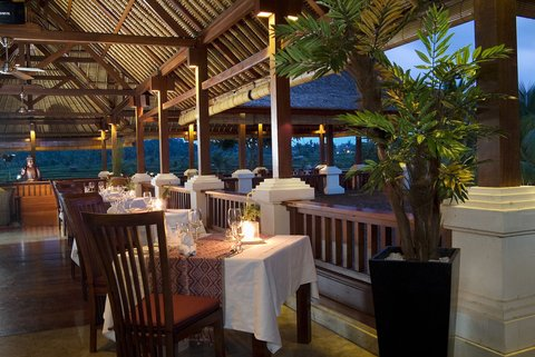 The Ubud Village Resort - Restaurant