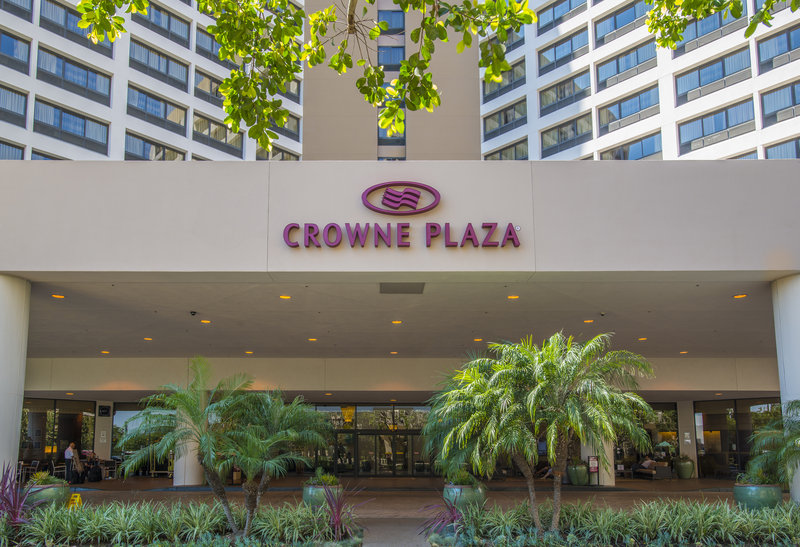 Crowne Plaza Hotel  Los Angeles-Intl. Airport Fasad