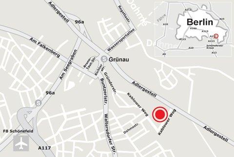 Gruenau Hotel - Map