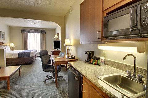Comfort Suites Waco - King Suite Wetbar