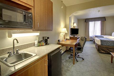 Comfort Suites Waco - Two Queen Bed Suite Wet Bar