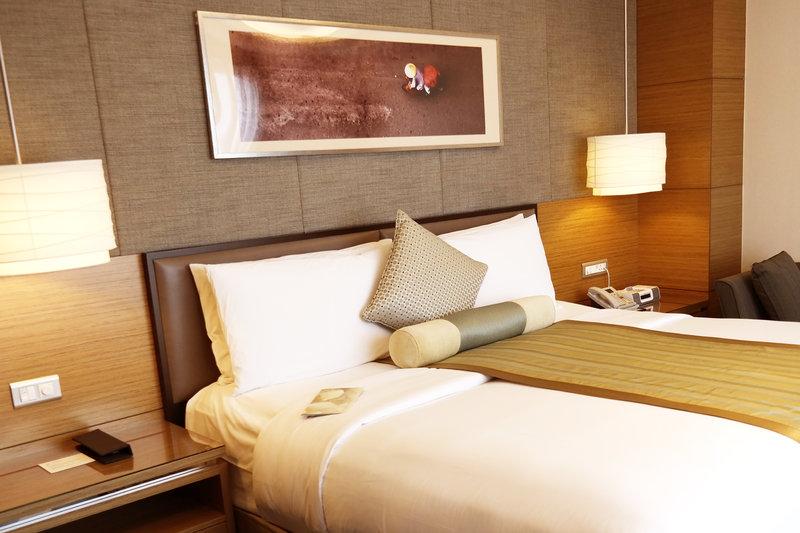 InterContinental Asiana Saigon Vista do quarto