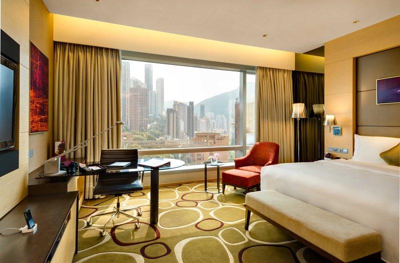 Crowne Plaza Hong Kong Causeway Bay Odanın görünümü