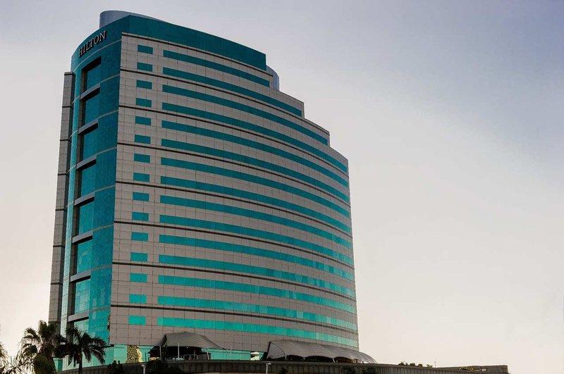 Hilton Durban hotel Widok z zewnątrz