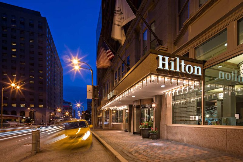 Hilton St. Louis Downtown Kilátás a szabadba