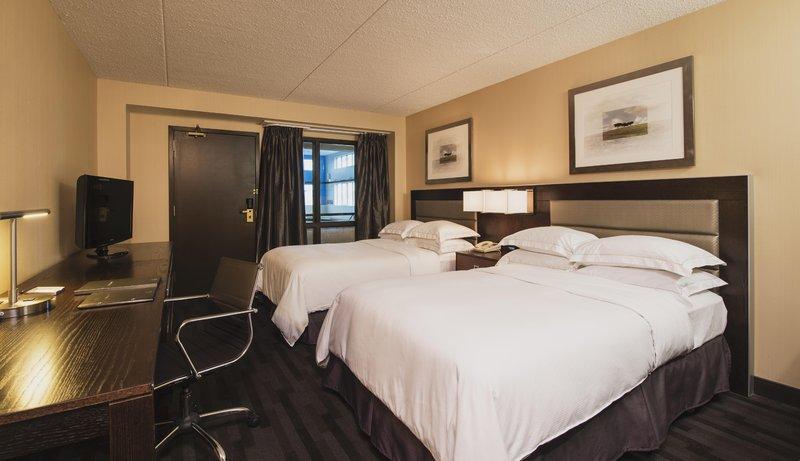 Hilton Suites Winnipeg Airport Вид в номере