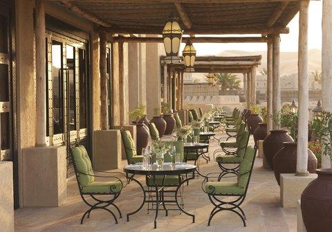 أنتارا قصر السراب منتجع الصحراء - Royal Pavilion Villas The Terrace