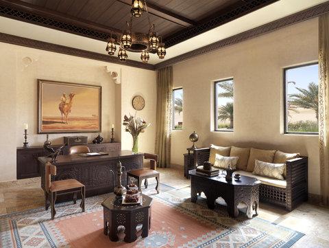 أنتارا قصر السراب منتجع الصحراء - Royal Pavilion Villas Reception