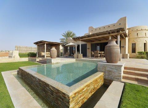 أنتارا قصر السراب منتجع الصحراء - Royal Pavilion Villas Villa Terrace Garden