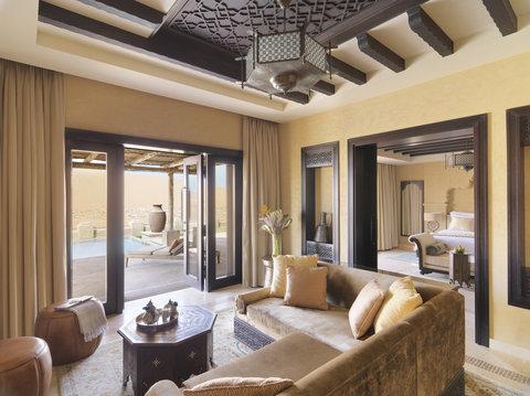 أنتارا قصر السراب منتجع الصحراء - Royal Pavilion Villas Villa Lounge