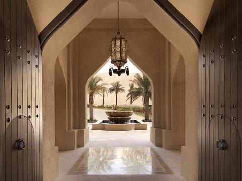 أنتارا قصر السراب منتجع الصحراء - Royal Pavilion Villas Courtyard Entrance