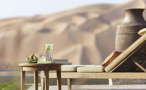 أنتارا قصر السراب منتجع الصحراء - Royal Pavilion Villas Villa Exterior Sunbed