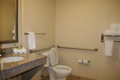 Holiday Inn Express & Suites GREENWOOD - ADA Bathroom