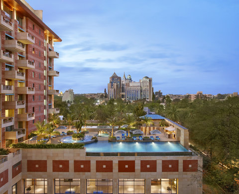 ITC Gardenia, a Luxury Collection Hotel, Bengaluru - Swimming Pool At Dusk