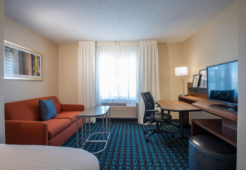 Fairfield Inn by Marriott Dallas Lewisville Vista do quarto
