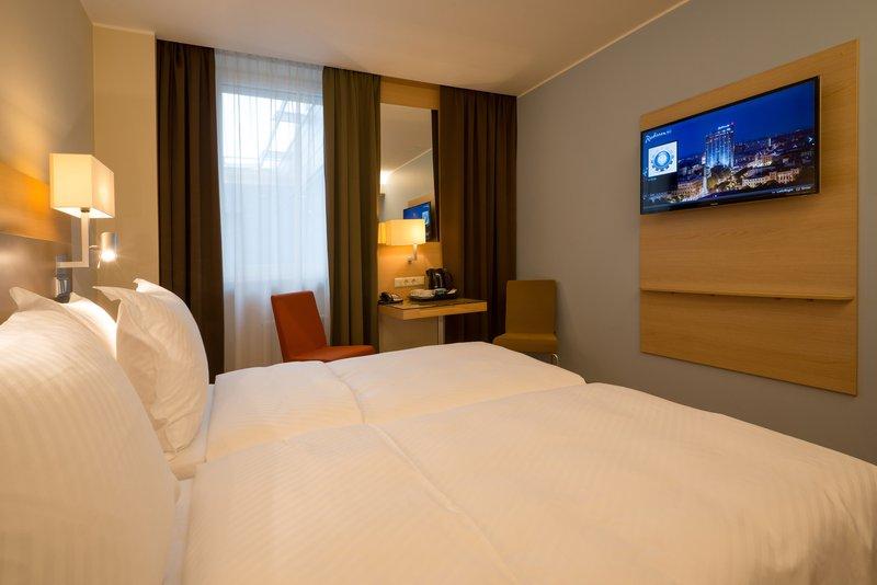 Radisson Blu Hotel Latvija Вид в номере