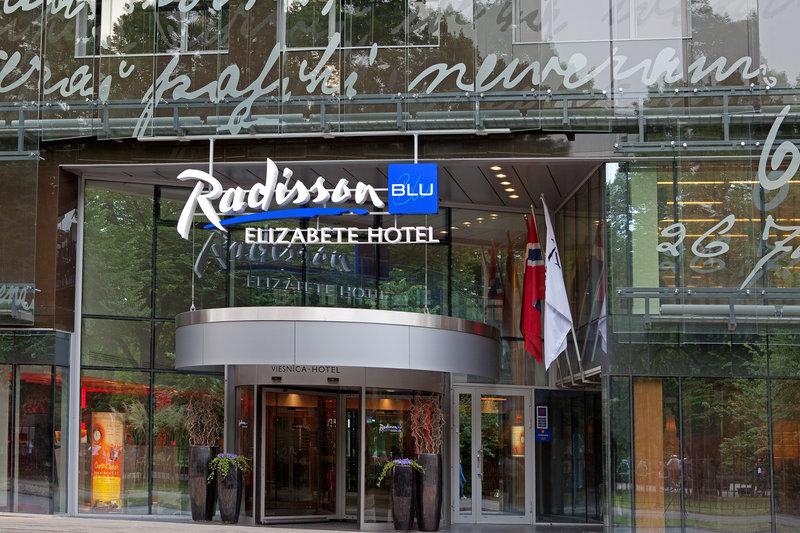 Radisson Blu Elizabete Hotel Fasad