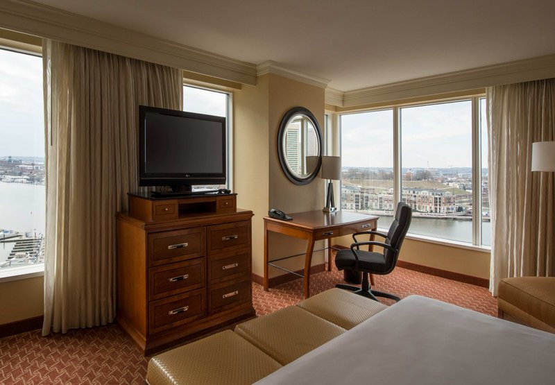 Marriott Baltimore Waterfront Hotel 客室
