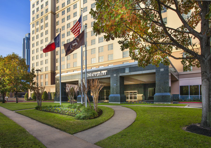 Sheraton Suites Houston Near The Galleria Set udefra