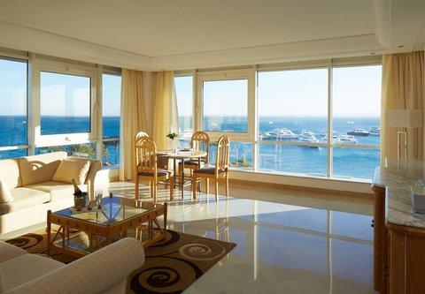 Hurghada Marriott Beach Resort - Neptune Suite Living Room