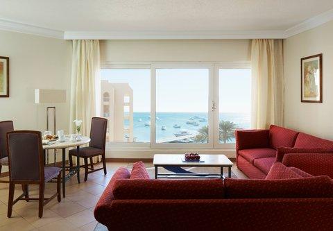 Hurghada Marriott Beach Resort - Cupid Suite Living Room