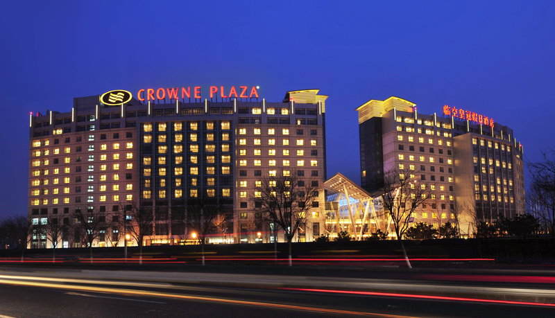 Crowne Plaza Hotel International Airport Beijing Vista exterior