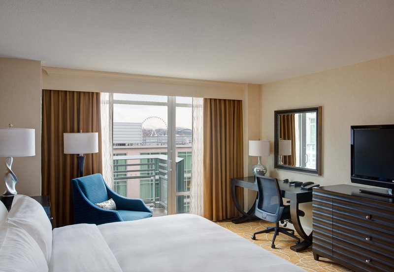 Seattle Marriott Waterfront Zimmeransicht