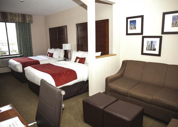 Comfort Suites Stafford Zimmeransicht