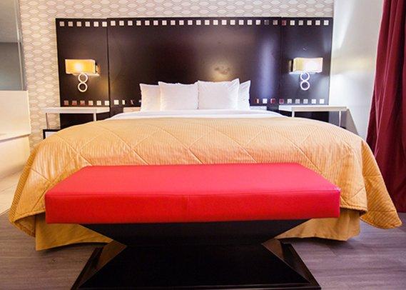 Holiday Inn Express LOS ANGELES-UNIV CTY-CAHUENGA Chambre