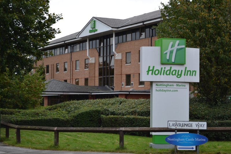 Holiday Inn Nottingham-Castle Marina Вид снаружи