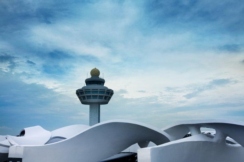 Crowne Plaza Hotel Changi airport Вид снаружи