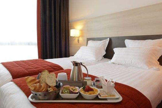 Hotel Kyriad Prestige Lyon Est Saint-Priest Eurexpo Zimmeransicht