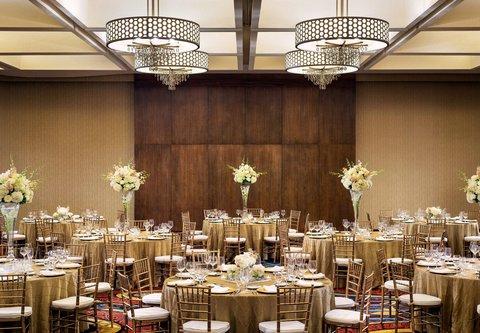 Westin City Center - Plaza Ballroom   Banquet Setup