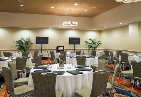 Westin City Center - Somerset Meeting Room   Banquet Setup