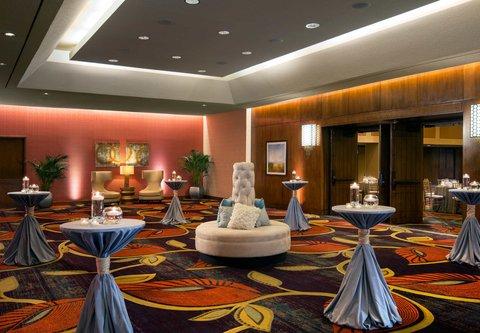 Westin City Center - Pre-Function Area   Reception Setup