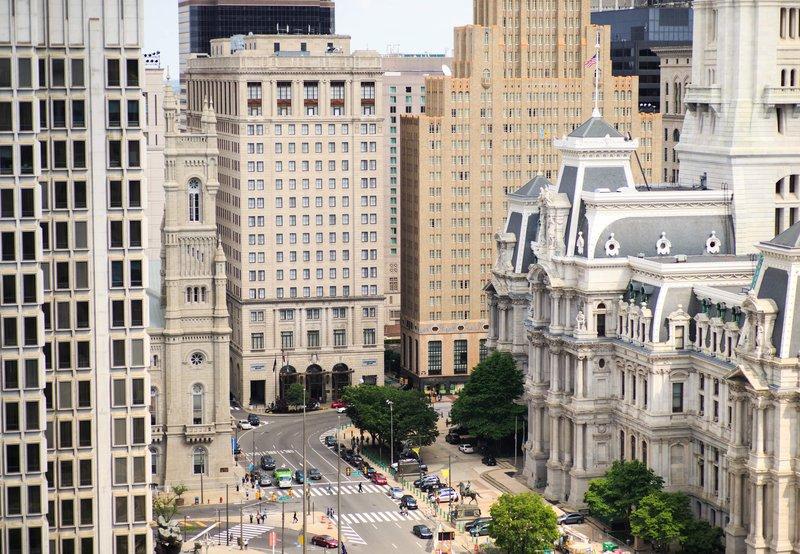 Courtyard Philadelphia Downtown Außenansicht