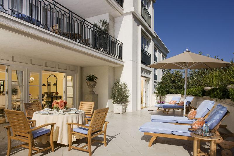 The Peninsula Beverly Hills Odanın görünümü
