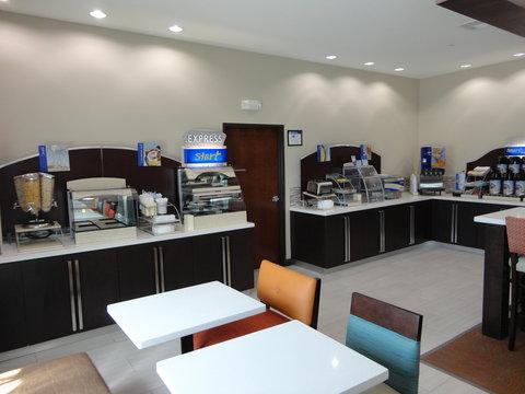 Holiday Inn Express KENEDY - Breakfast Area