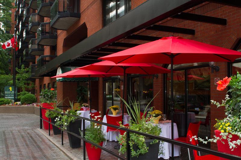 Cartier Place Suite Hotel Gastronomie