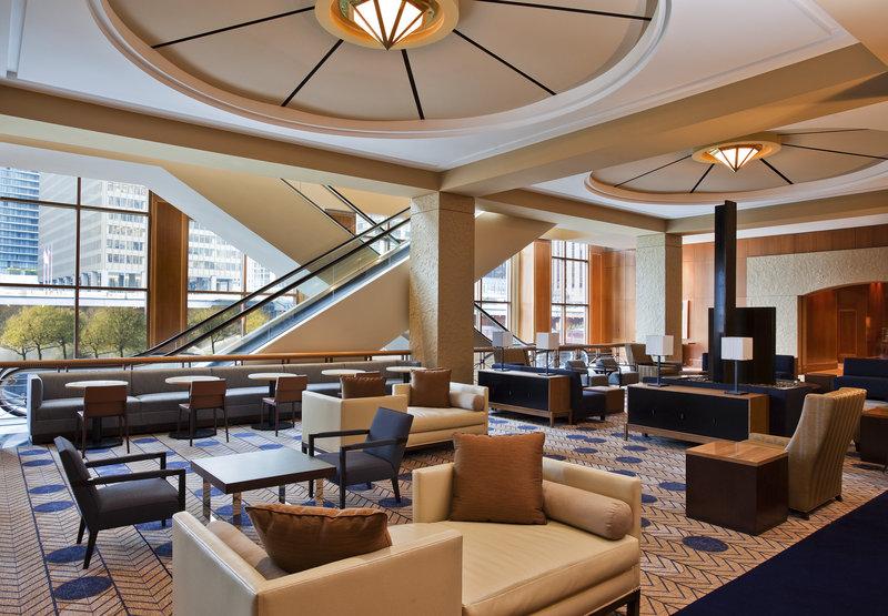 Sheraton Chicago Hotel & Towers Lobby