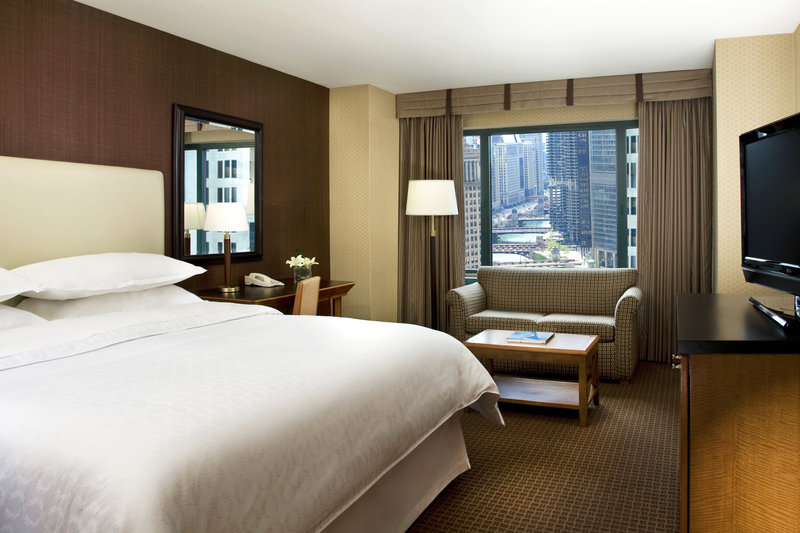 Sheraton Chicago Hotel & Towers View of room