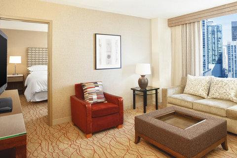 Sheraton Grand Chicago Hotel - Suite Parlor